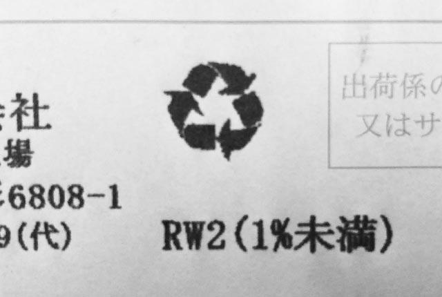 RW2(1%未満)
